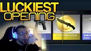 Download CS:GO - Luckiest Huntsman Opening EVER! Video