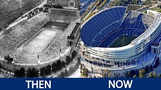 Download NFL Stadiums Then and Now Video