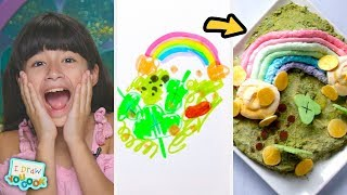 Download Can These Chefs Turn A Leprechaun Drawing Into A Real Dish? • Tasty Video