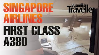 Download Singapore Airlines First Class, A380 London to Singapore - Business Traveller Video