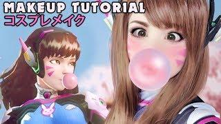 Download ☆ D.Va OVERWATCH Cosplay Makeup Tutorial オーバーウォッチ ☆ Video