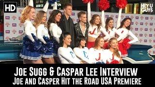 Download Joe Sugg & Caspar Lee Interview - Joe and Caspar Hit the Road USA Premiere Video
