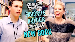 Download WHEN YOUR FAVORITE AUTHOR HAS A NEW BOOK Video