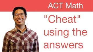 Download Best ACT Math Prep Strategies, Tips, and Tricks - ″Cheating″ Using the Answer Choices Video