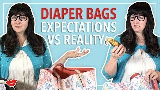 Download Expectation VS Reality: What's In My Diaper Bag! | Alisha from Millennial Moms Video