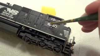 Download How To Renumber a Factory Painted Locomotive Video