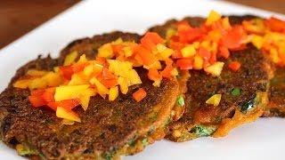 Download Kale pancakes (kale-jangtteok: 케일장떡) Video