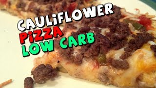 Download Cauliflower Pizza Recipe (Low Carb/High Protein) Video