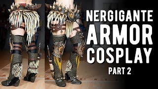 Download Nergigante Armor Cosplay Pt.2 - Monster Hunter World Video