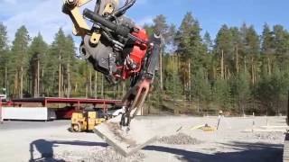 Download Precision work with Rototilt® tiltrotator and Caterpillar excavator Video
