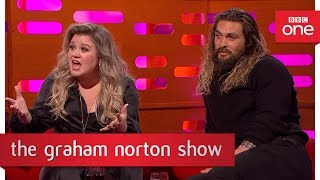 Download Kelly Clarkson gets offended by a story from the big red chair - The Graham Norton Show - BBC One Video