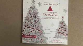 Download Because of Bethlehem Christmas Coloring Book: Love is born. Hope is here. flip through Video