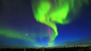 Download Northern Lights (Aurora) - Yellowknife, NWT, Canada - April 9, 2015 Video