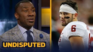 Download Shannon Sharpe reveals why he's not buying Sooners' Baker Mayfield as an NFL QB | UNDISPUTED Video