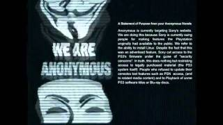 Download Ps3/PSN Servers Down : Hacked By Anonymous : Official Anonymous Message [ Explained ] Video