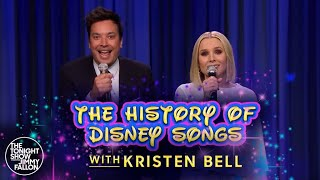 Download History of Disney Songs with Kristen Bell Video