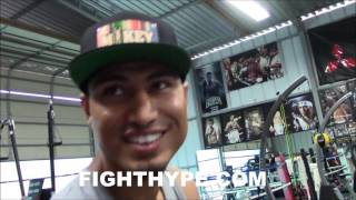 Download MIKEY GARCIA SAYS MALIGNAGGI NOT HONEST ABOUT MCGREGOR SPARRING; INSISTS NO CHANCE VS. MAYWEATHER Video