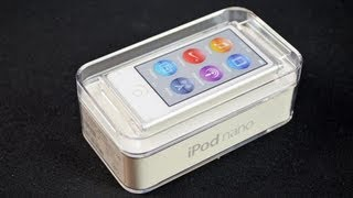 Download Apple iPod nano (7th Generation): Unboxing & Review Video