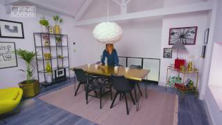 Download Fine Living Channel - How to create a dining room in a small space Video