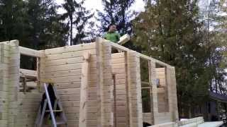 Download Building a log cabin in Finland: Putting up the walls (Part 6) Video