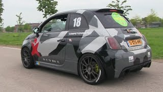 Download 250HP Abarth 500 w/ Ragazzon Exhaust & Jon Olsson Wrap | CRAZY POPS AND BANGS! Video