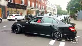 Download Extremely loud AMG C63, AMG GT, Porsche 918 Spyder, 599 gto, Aventador Roadster Video