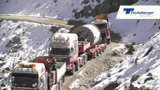 Download Seiltransport TEUFELBERGER-Tragseile für die 3S Bahn am Stubaier Gletscher, Österreich Video