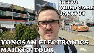 Download (용산전자상가) Yongsan Electronics Market Tour: Retro Video Game Jackpot (Pivothead Smart) (G7X) Video