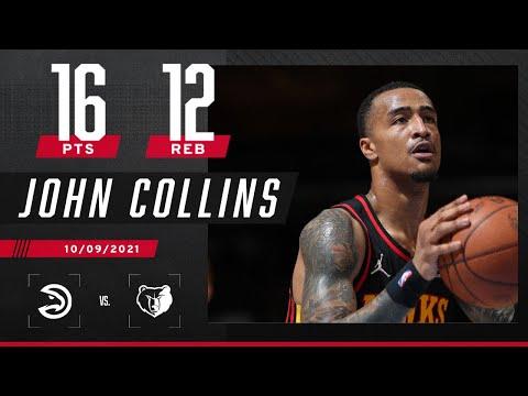 John Collins posts double-double vs. Grizzlies