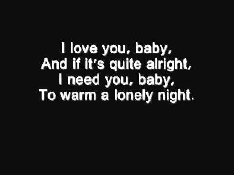 I love you baby - Frank Sinatra lyrics.wmv.flv