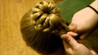 Download How to: Lace Braid Bun - Style Better Bella Video