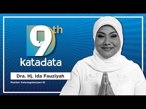 HUT Katadata-9: Menteri Ketenagakerjaan Republik Indonesia - Dra. Hj. Ida Fauziyah