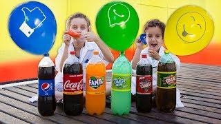 Download PAULINHO CIENTISTA e os Balões Infantil c/ COCA COLA e MENTOS - Experiencias para Crianças Video