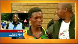 Download Strong police presence as coffin assault suspects appear in court Video