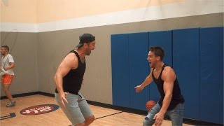 Download I dunked a 11ft basketball with Lewis Howes | VLOG 51 Video