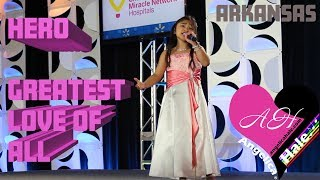 Download Angelica Hale ″Hero″ & ″Greatest Love of All″ Complete Performance Video