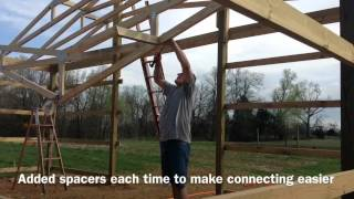 Download 1 Man Barn Build Video