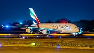 Download Brand new Airbus 380 of Emirates Airlines-Departure Video