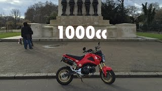 Download 1000cc Honda Grom trolling Video