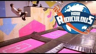 Download Trampoline Trick Shots - How Ridiculous Video