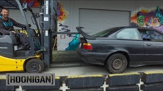 Download [HOONIGAN] Daily Transmission 008: We buy a $350 BMW for Yard Antics Video