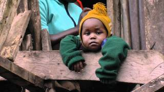 Download The slums of Nairobi in the Mathare Valley Video