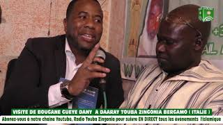 Download Visite de Bougane Gueye Dany à Daaray Touba Zingonia Bergamo ( ITALIE ) Video