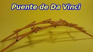 Download El Puente Autosustentante de Leonardo Da Vinci Video