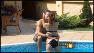 Download Katarina Grujić i Boris se vaćare na bazenu Video