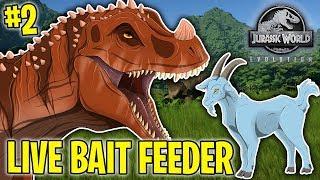 Download LIVE BAIT FEEDER!! - JURASSIC WORLD EVOLUTION #2 Video
