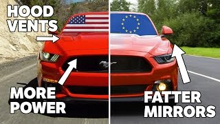 Download 10 Differences Between US And European Mustangs Video