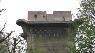 Download The Flaktürme (flak towers) in Vienna, Austria. Video