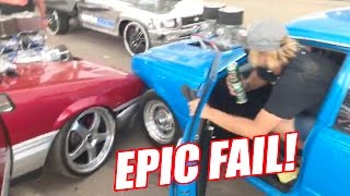 Download BURNOUT FAIL - AND I CAUGHT IT ON CAMERA! Video