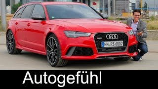 Download Audi RS6 Avant Performance FULL REVIEW test driven Autobahn V8 605 hp - Autogefühl Video